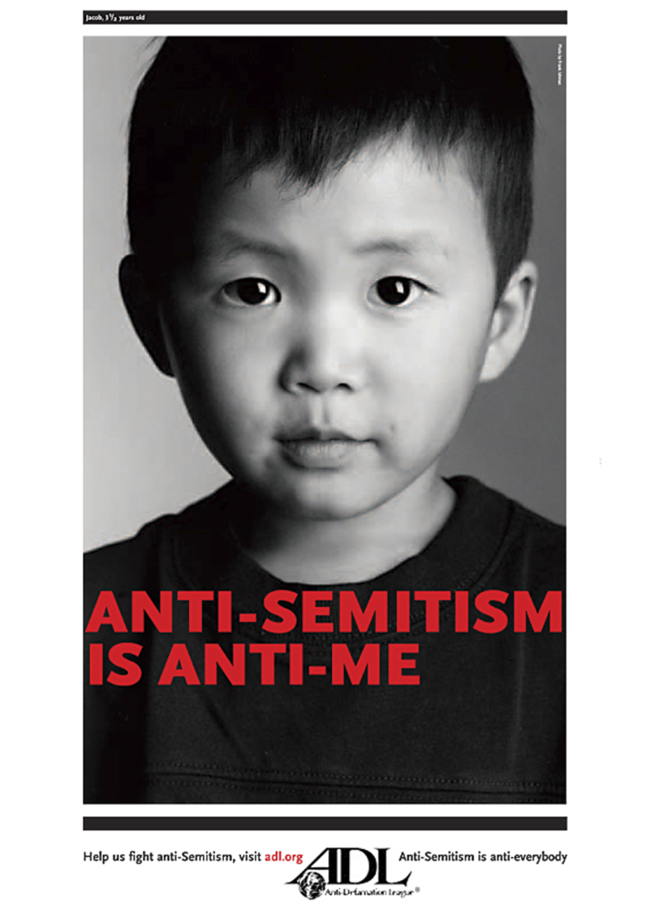 Anti-Semitism is Anti-Me Poster Campaign - Jacob 3 1/2